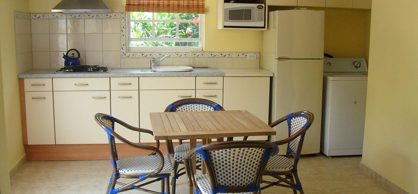 28. Guest cottage kitchen