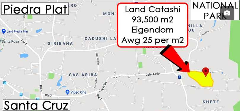 Map Catashi land
