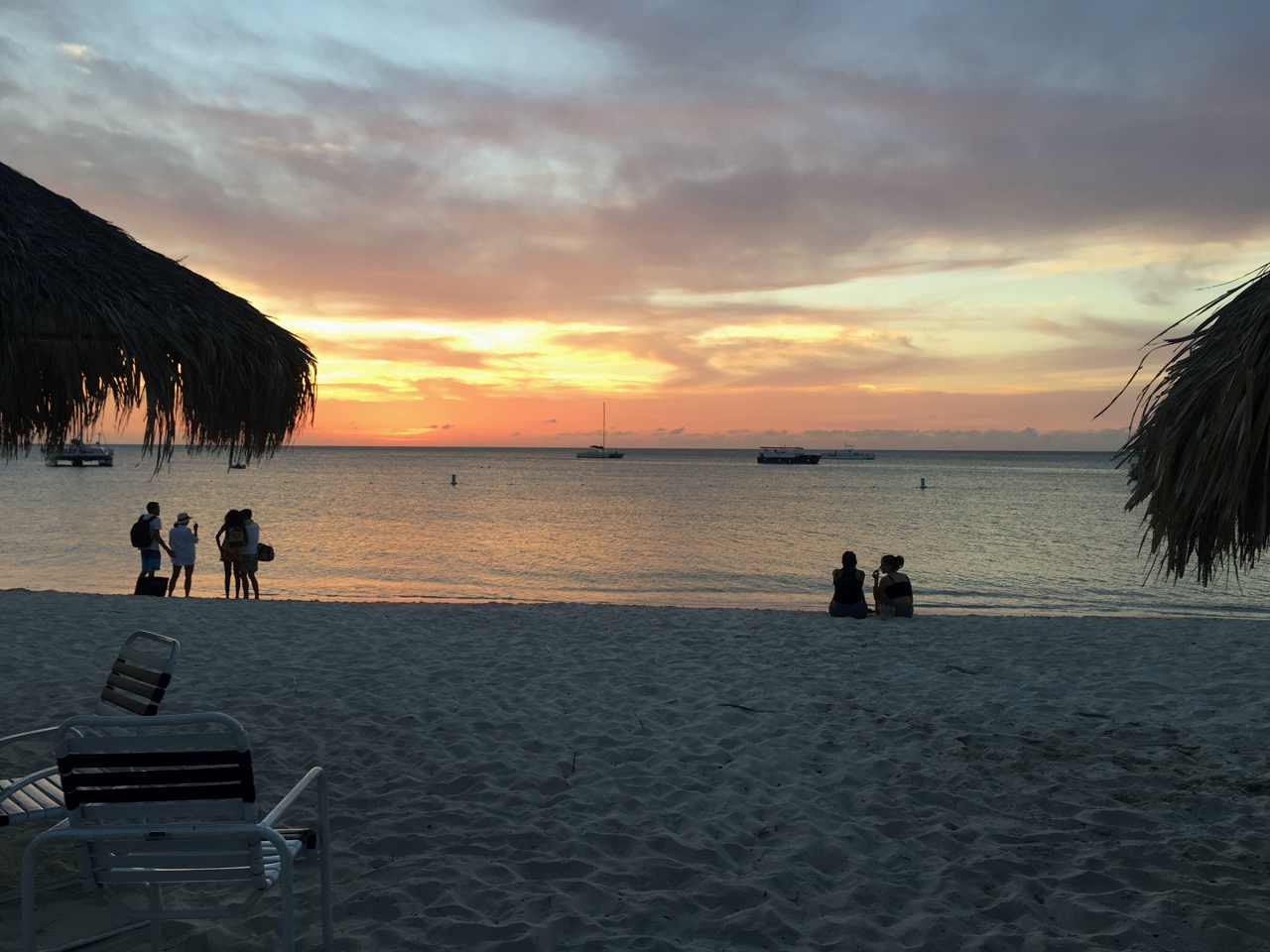 Aruba real estate on the beach